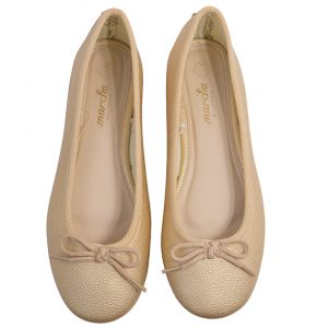 Gold Raisin ballerina shoes