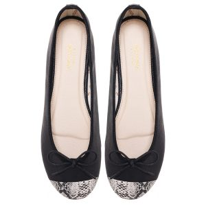 Women footwear black Ballerina flats shoes
