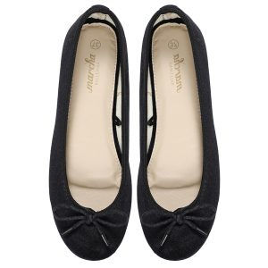 black flats women footwear