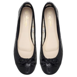 Women footwear Black Ballerina shoes