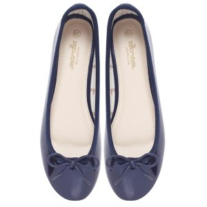 Women footwear blue clear Ballerina flats shoes