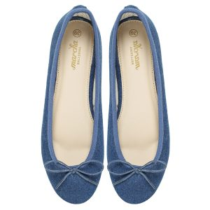 Women footwear jeans Ballerina flats shoes