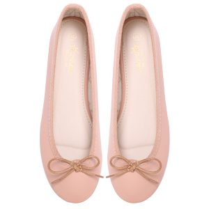 Women nude ballerina flats / pumps