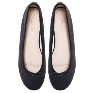 Women Black Doll pumps shoes