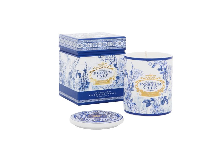 PC Gold&Blue Candle
