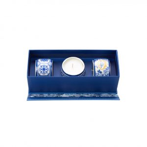 PC Gold&Blue Candle Gift Set A