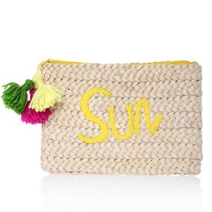 Yellow Cluth bag Sun