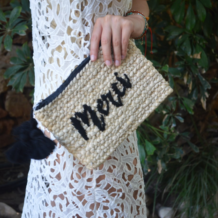 Embroidered Cluth bag