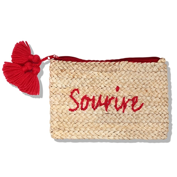 Red cluth bag Sourir